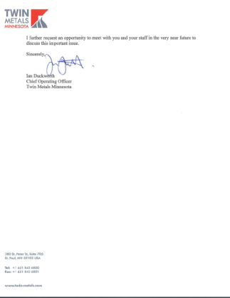 Duckworth Letter 2